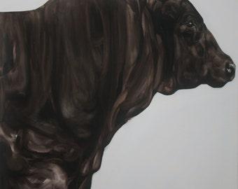 Bull Animal Art Print