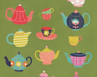 Wall Art Print - Mad Hatter's Tea Party - Home Decor
