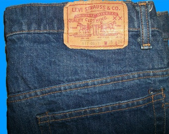 Levis 517    -  0217 36 W x 34 L   Made in USA