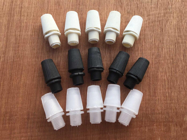 5PCS 10mm Gewinde Schaft Kabel Draht Zugentlastung für Lampe