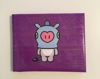 BT21 Mang Duck Tape Wallet