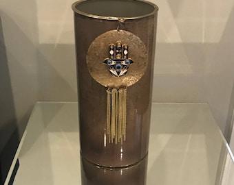 Bronze metal Candle Holder