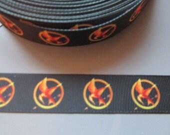 Hunger Games Mockingjay Grosgrain Ribbon x 1 metre