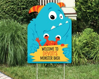 Monster Yard Decor Etsy