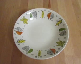 "1950s Broadhurst Kathie Winkle ""Palma Nova"" serving bowl"