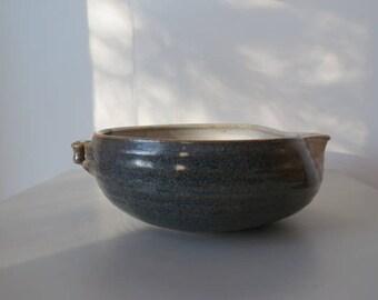 ceramic earthware bowl