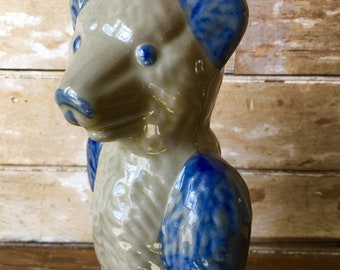 Vintage BeUmont Pottery Bear Figurine Stoneware