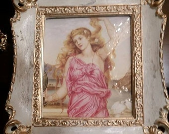 Greek Goddess Framed Portrait