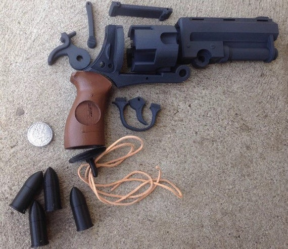 Huge hellboy good samaritan revolver gun kit diy biggest like this item solutioingenieria Gallery