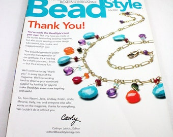 Bead Style magazine - beading, jewelry making, patterns, instructions and inspiration