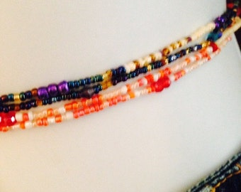 Waist Beads....Bohemian Inspired Hues