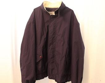 Vintage 90s Members Only Zip-up Jacket - 3X