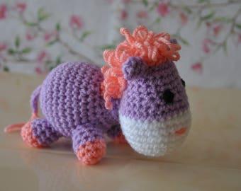 Little Pony crochet wool blanket