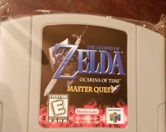 Legend of Zelda Ocarina of Time Master Quest N64 Custom English