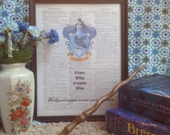 Ravenclaw House Wall Art