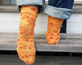 Knitting Pattern - Hijiri Sensitive Socks