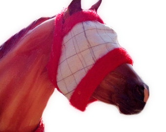 Fly Mask For Model Horses LSQ and PSQ