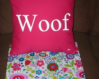 Woof Pillow