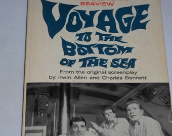 1967 Voyage to the Bottom of the Sea TV tie-in series vintage paperback book science fiction sci-fi by Irwin Allen