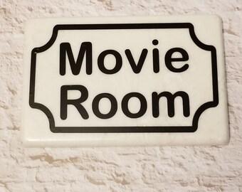 Movie Room Tile