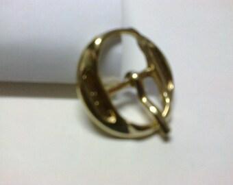Round loop brass passage 1.3 cm * BO56 *.