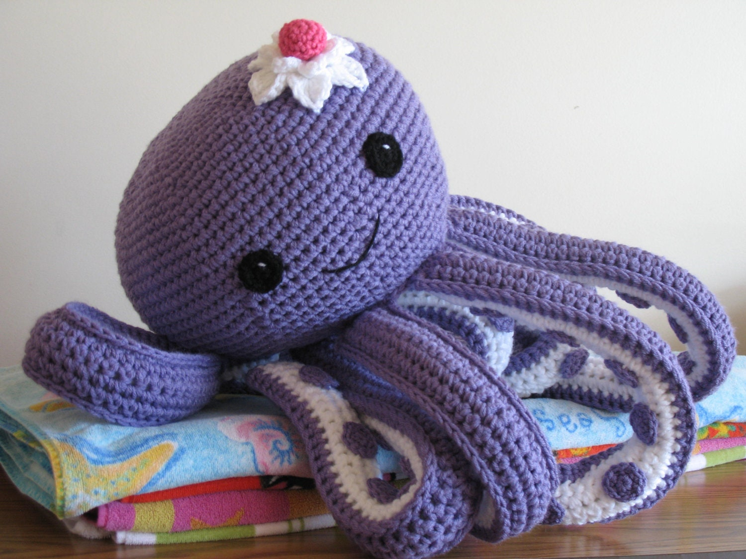 Octopus Novelty Pillow PDF PatternFREE pattern for mini