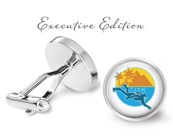 Scuba Diver Cufflinks - Scuba Cuff Links (Pair) Lifetime Guarantee (S1061)