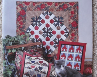 Mini Quilts - by Anita Murphy & her friends - American School of Needlework #4133 - NEW