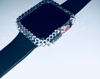 REAL swarovski crystal apple watch case- custom made 42mm & 38mm