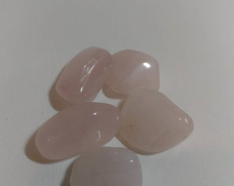 Polished Tumbled Rose Quartz