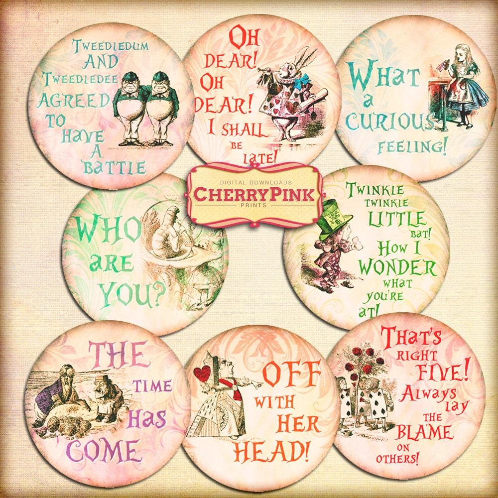 Alice In Wonderland Cake Toppers Australia