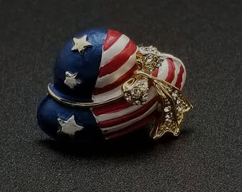 American Hat Magnetic Pin