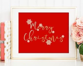 Merry Christmas, Christmas,  Christmas decor, Christmas gift, Christmas decoration, Christmas printable, Christmas sign, merry christmas