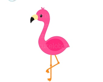 flamingo clipart etsy rh etsy com flamingo clip art to color flamingo clip art pictures