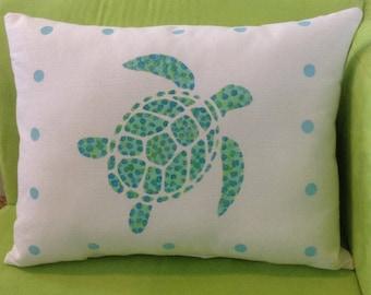 Sea Turtle Pillow