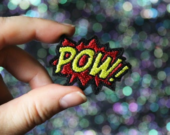 POW Lapel Pin, Comic Tie Tack, Retro Style, Bride Groom