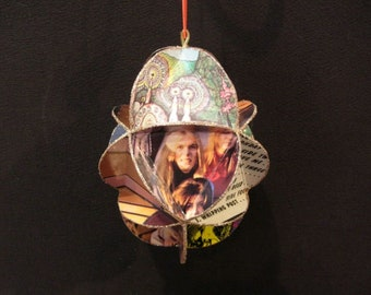 Allman Brothers Band Album Cover Ornament Made Of Record Jackets - Gregg Allman