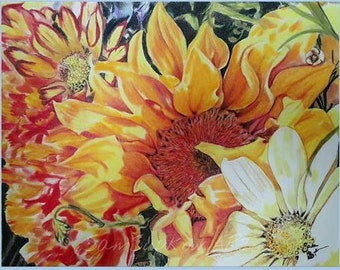 Original Art Print Notecard