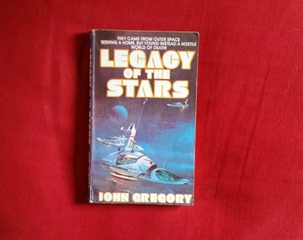 John Gregory - Legacy of the Stars (Ace / Stoneshire Paperback 1983)