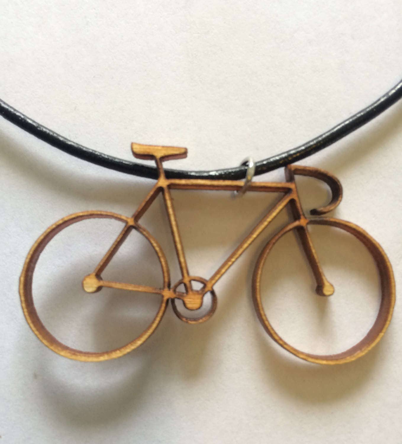 Bicycle pendant necklace aloadofball Image collections