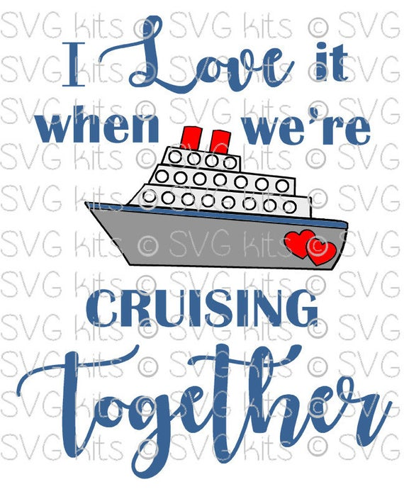 Cruise Ship Digital Instant Download Svg File Cruising