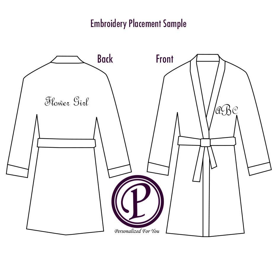 6 Colors Kids Fleece Hooded Robe Plush Robe Monogram Robe