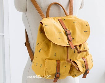 Demelza Backpack PDF Sewing Pattern (#1101)
