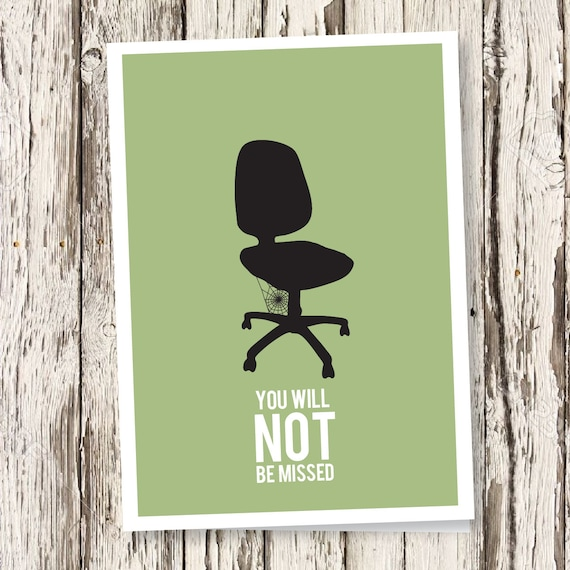 Say farewell to your colleague with this DIY printable card
