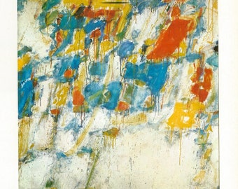 Sam Francis - Composition, 1960 to Frame or to use in Paper Arts and Collage PSS 3211