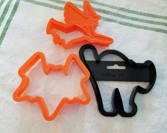 Set of 3 Halloween Cookie Cutters