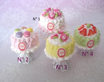 Cupcake birthday 4 scents for your foodie or miniature jewelry