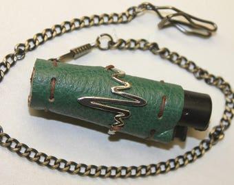 steampunk lighter holder