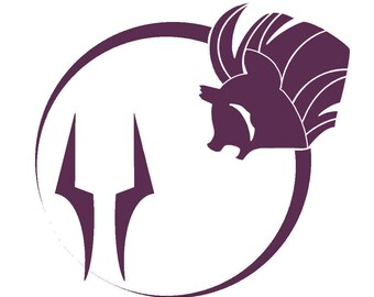 My Little Pony Friendship is Magic Tempest Silhouette Vinyl Decal
