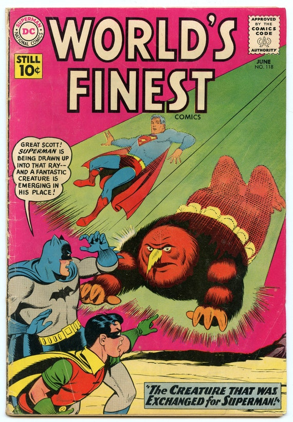 World's Finest 118 Jun 1961 VG- (3.5)